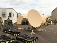 US Air National Guard 242nd Combat Communications Squadron Tests Deployment Capabilities