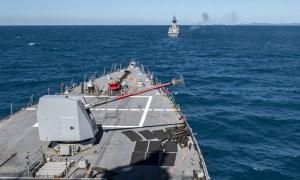 US Navy Arleigh Burke-class Destroyer USS Rafael Peralta Participates in Talisman Sabre 2021