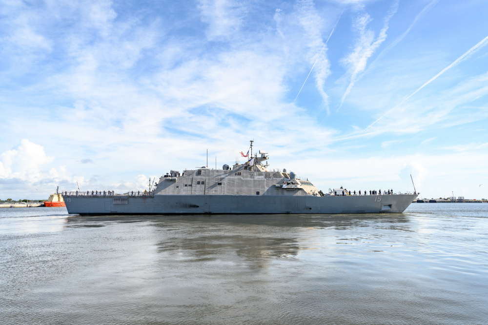US Navy USS Billings (LCS 15) Deploys to Support Regional Cooperation and Security