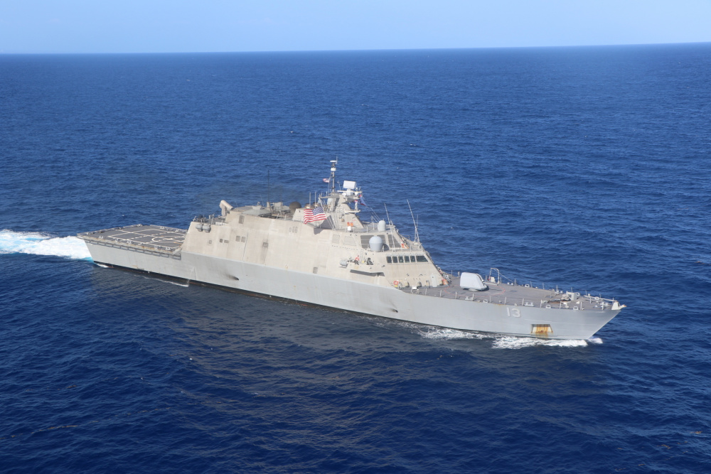 US Navy USS Wichita and Helicopter Sea Combat Squadron 22 Completes Maiden Deployment