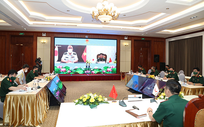 Vietnam People's Army and Japan Ground Self-Defence Forces Enhance Ground Forces Cooperation