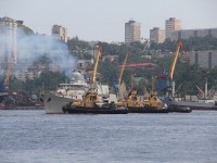 Vietnamese People's Navy Missile Frigates Arrive in Vladivostok for Russia's Navy Day Celebrations