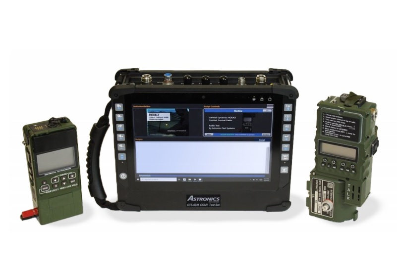General Dynamics Mission Systems CTS-6025 Combat Search and Rescue (CSAR) Test Sets
