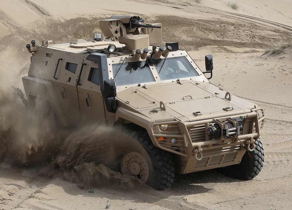 COBRA II MRAP Mine-resistant Ambush Protected Vehicle