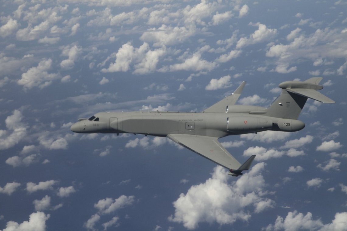 G550 airborne early warning and control/electronic attack (CAEW/EA)