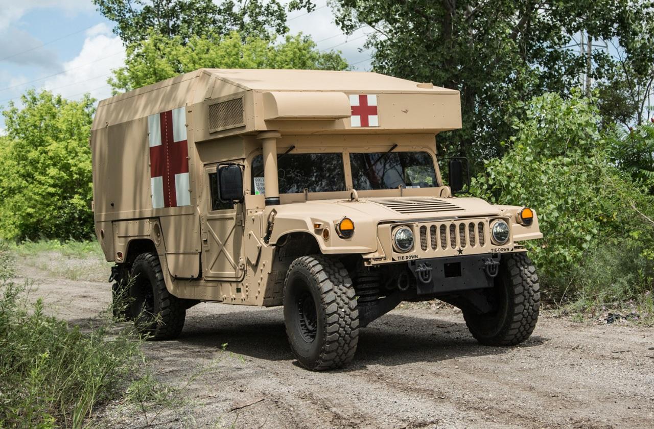 M997A3 Tactical Humvee Ambulance