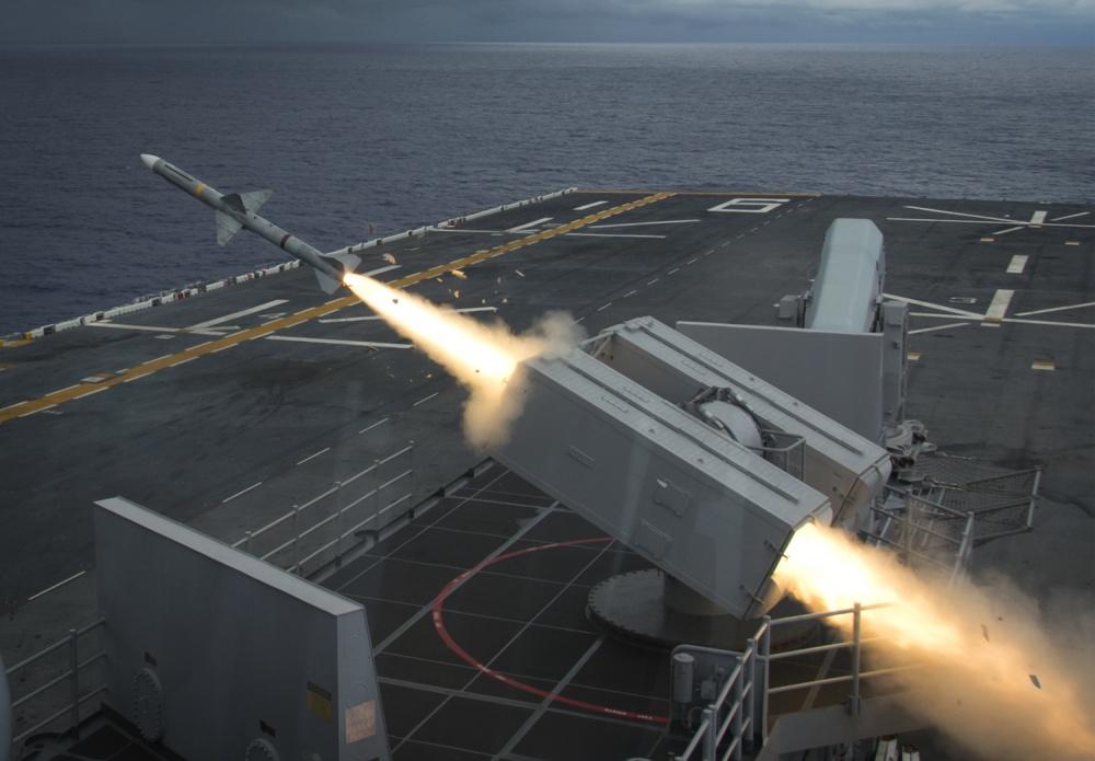 MK 57 NATO Seasparrow Missile
