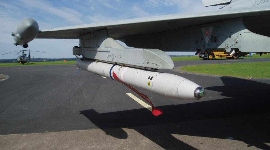 Advanced Short Range Air-to-Air Missile (ASRAAM)