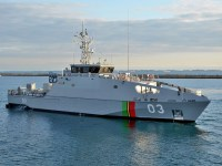 Vanuatu's RVS Takuare is a 39.5 metre steel monohull Guardian-class Patrol Boat designed and constructed by Austal in Henderson, Western Australia.