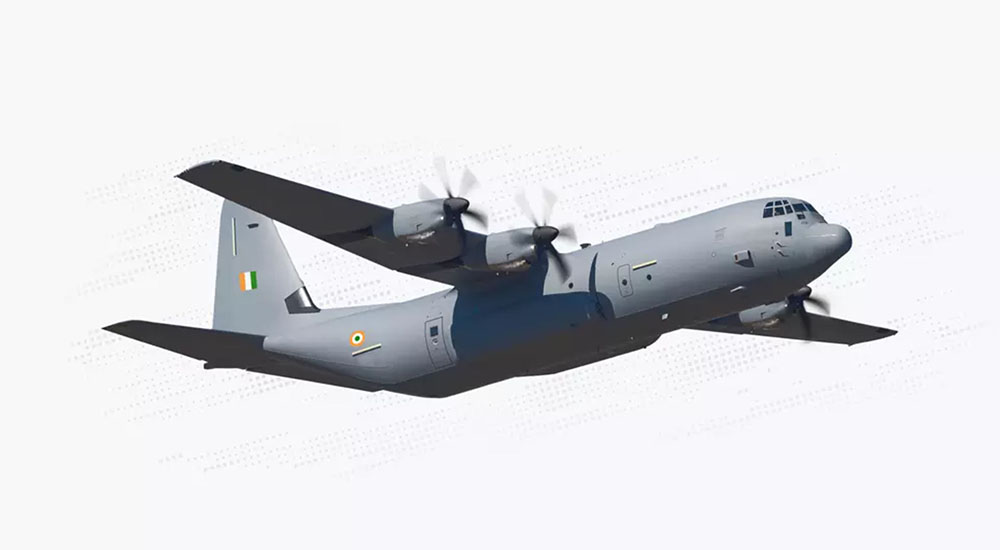 Indian Air Force C-130J-30 Super Hercules Aircraft