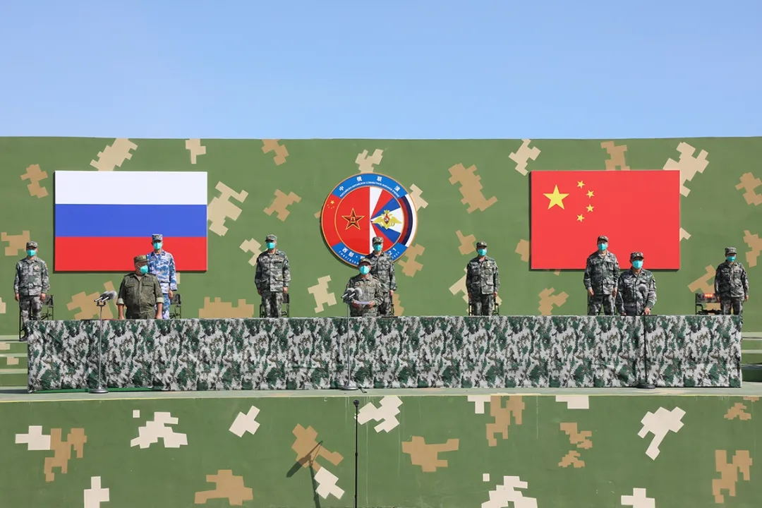 Chinese People's Liberation Army and Russian Army Conclude Exercise Sibu/Interaction 2021