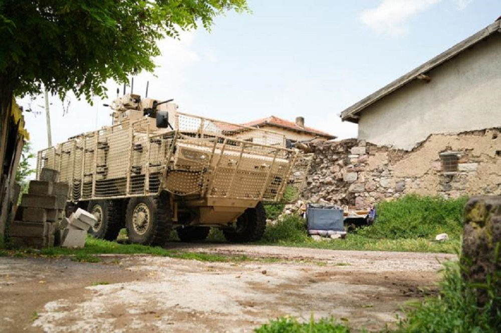 Turkey's FNSS PARS IV 6x6 Special Operations Vehicle Continues Qualification Tests