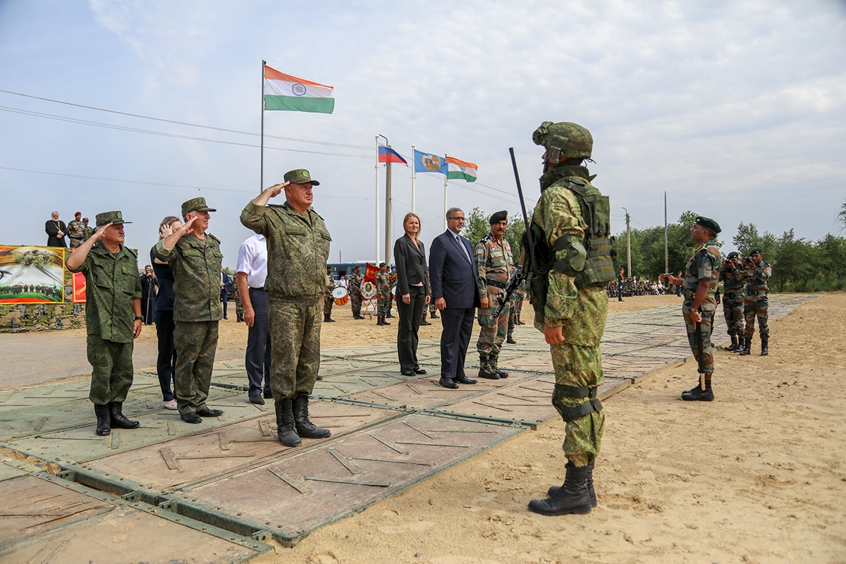 Indian Army and Russian Ground Forces Kick Off Indra 2021 Exercise Near Volgograd