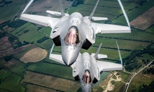 Italian Air Force F-35 Fighters Execute Trailblazer Deployment in Baltic Air Policing