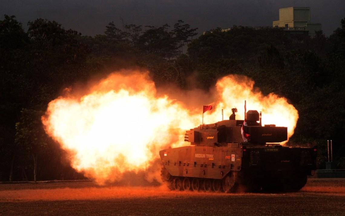 FNSS-PINDAD KAPLAN (Harimau) MT Modern Medium Weight Tank