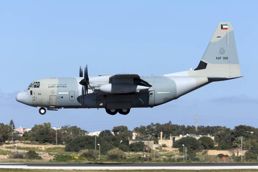 Kuwait Air Force KC-130J Tankers