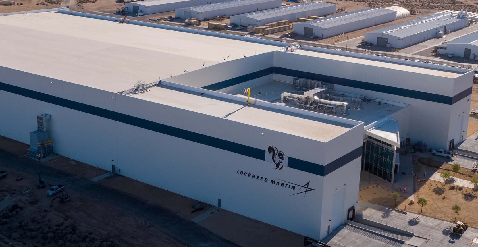 Lockheed Martin's Advanced Manufacturing Facility at the Skunk Works® in Palmdale, California