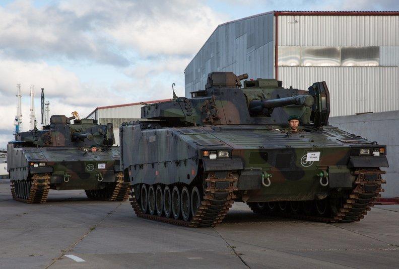Estonia Army CV9035  Infantry Fighting Vehicles