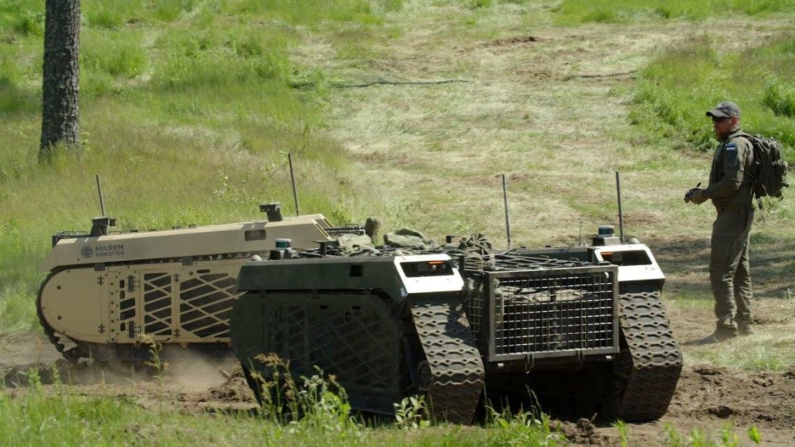 Milrem Robotics Demonstrates THeMIS Unmanned Ground Vehicles Off-road Autonomy