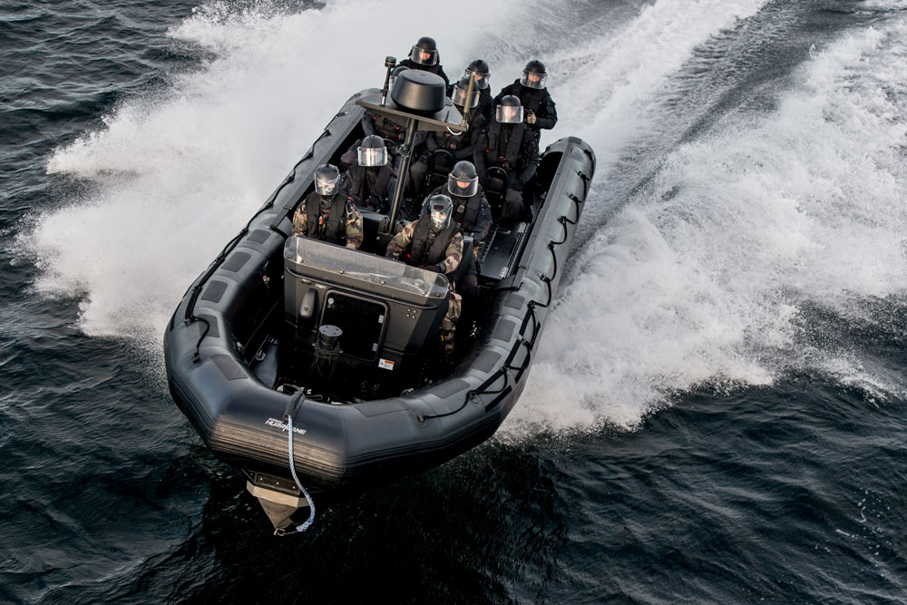 Zodiac Hurricane™ have led the RIB market for more than 30 years in quality, innovation and versatility; offering a range of modular and effective platforms for multiple mission profiles and users