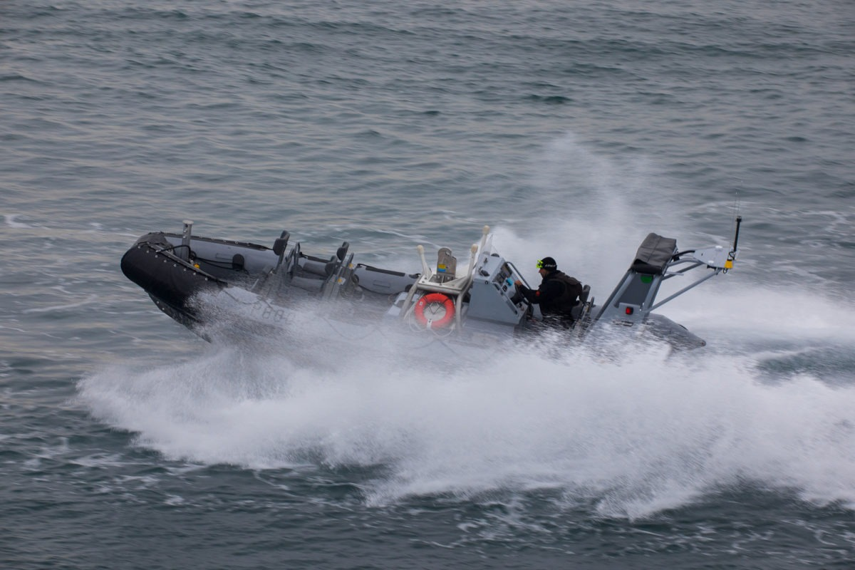 The new boats are designed to support amphibious operations. (Photo by NSPA/Zodiac Milpro)