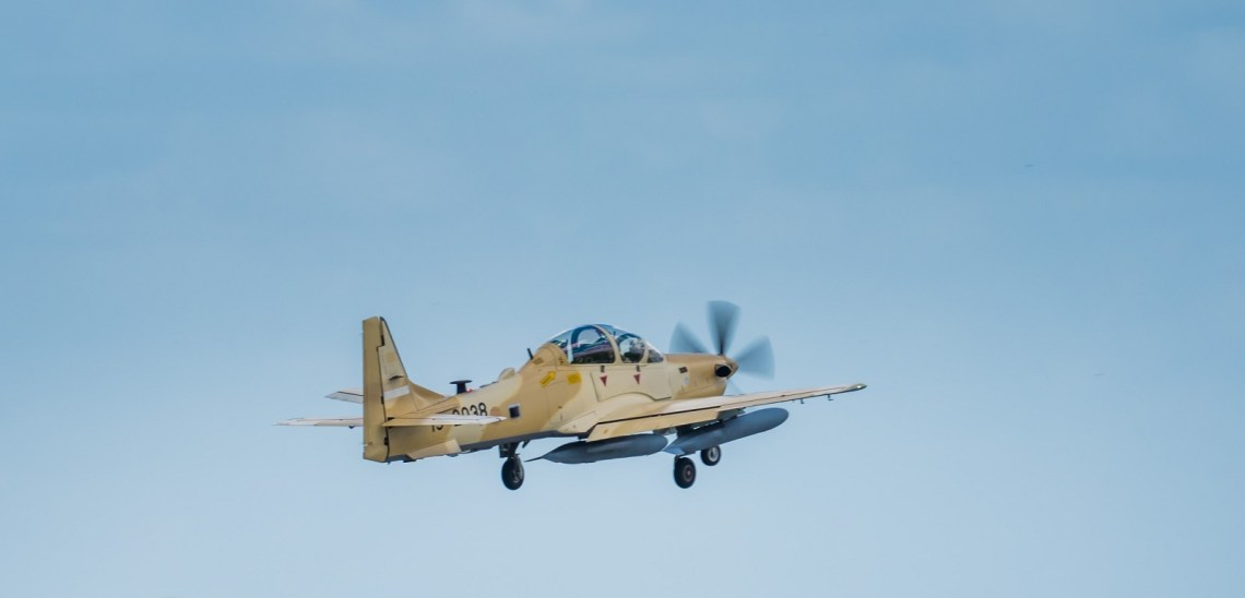 Nigerian Air Force A-29 Super Tucano Counter-insurgency Aircraft Depart US for Final Delivery