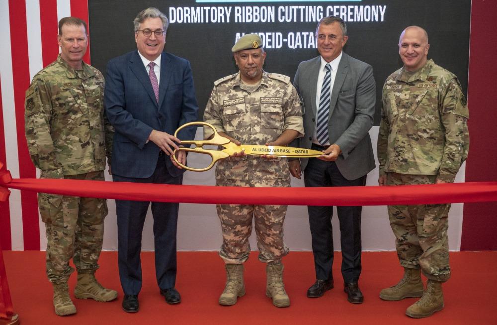 وزارة الدفاع القطرية توفر صالات نوم مشتركة جديدة لقاعدة العديد الجوية (AUAB)