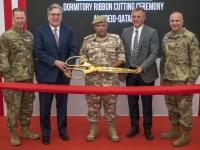 Qatar Ministry of Defense Presents New Dormitory Facilities to Al Udeid Air Base (AUAB)