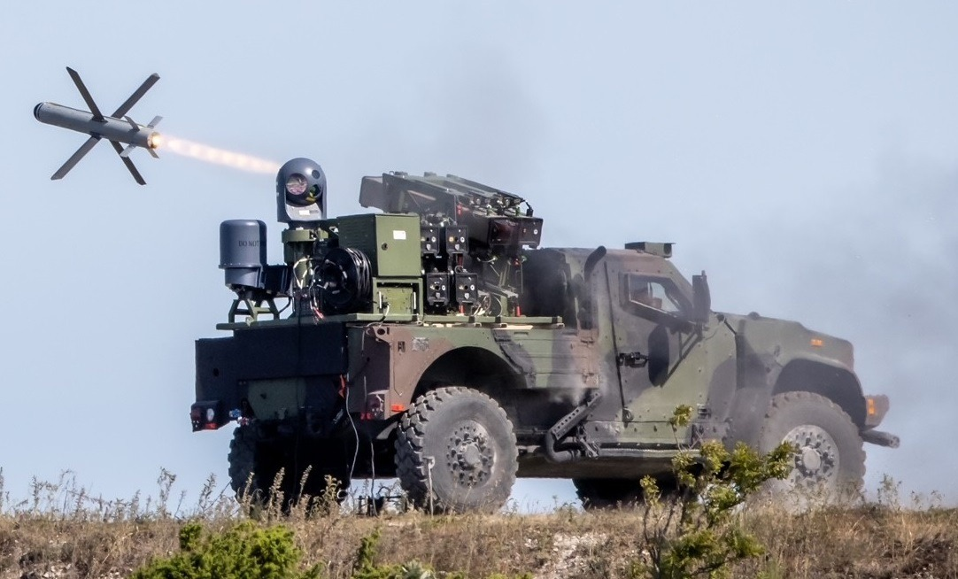 Rafael Fires SPIKE NLOS Missile from Oshkosh Joint Light Tactical Vehicle (JLTV) in Estonia