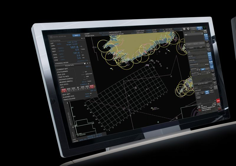 Raytheon Anschütz Introduced New Warship Electronic Chart Display and Information System (WECDIS)