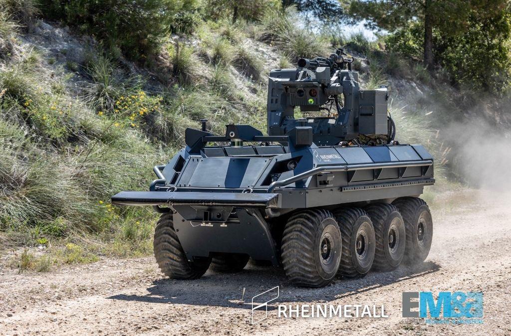 Mission Master SP Autonomous Unmanned Ground Vehicles (A-UGVs)