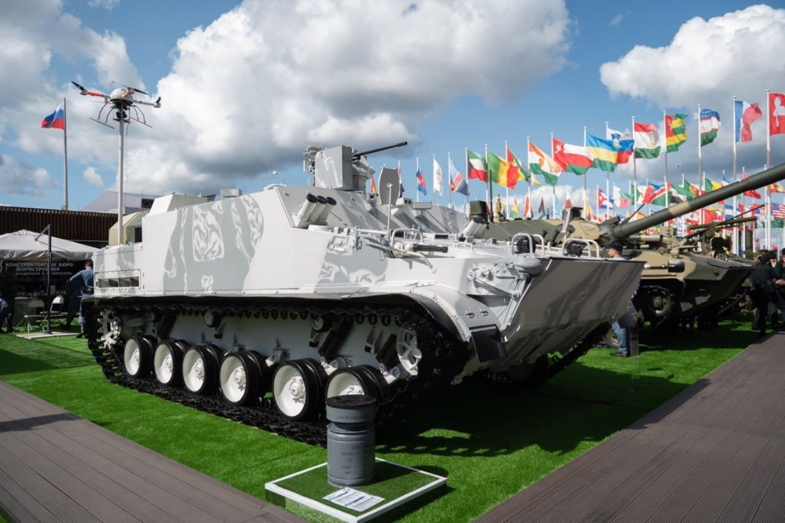 BT-3F Armored Personnel Carrier