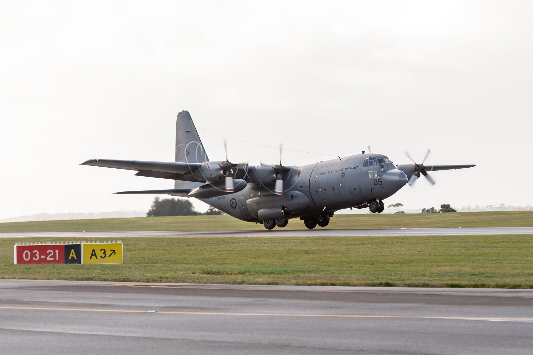 Royal New Zealand Air Force C-130HNZ Hercules Deploy to Assist with Evacuations from Afghanistan