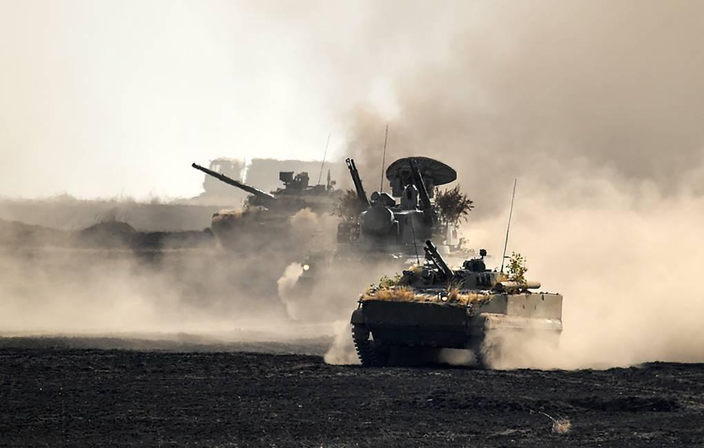 Russia Tajikistan and Uzbekistan Kick off Large-scale Military Drills on Afghan Border
