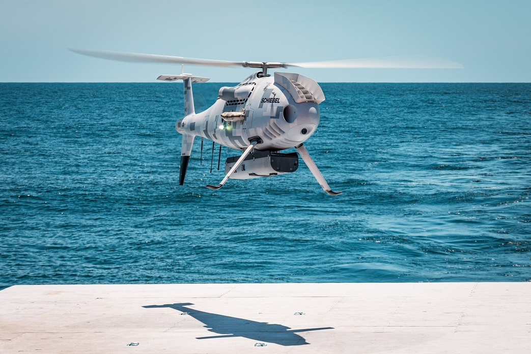 Schiebel Camcopters S-100 Unmanned Air System Successfully Completes Flight Trials for US Navy