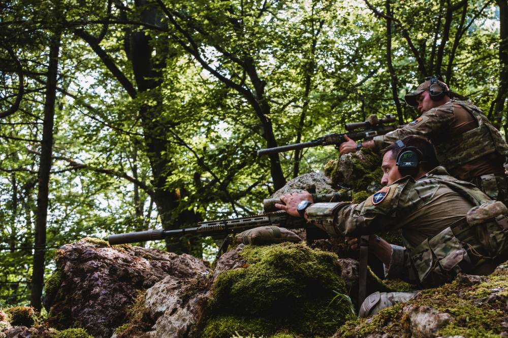 Snipers from 14 Countries Compete in European Best Sniper Team Competition
