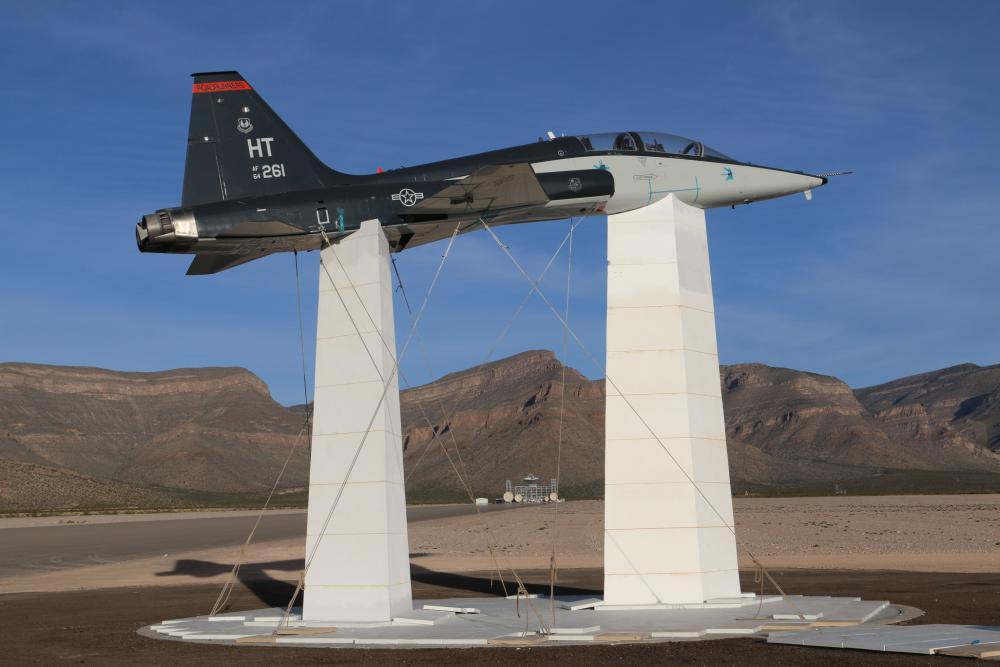 US Air Force 704th Test Group, Det. 1 Prepares for Next-gen Radar Cross Section Testing