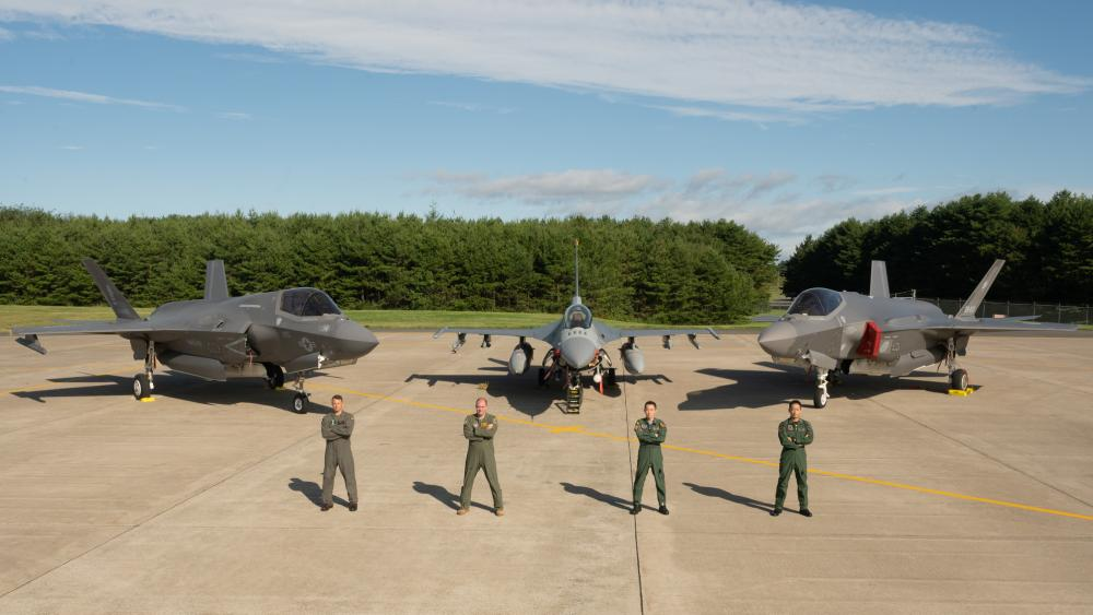 US Armed Forces and Japan Air Self-Defense Force Conduct Joint Exercise in Misawa Air Base