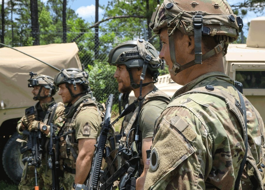 US Army 37th Infantry Brigade Combat Team and Hungarian Defence Forces Train Together