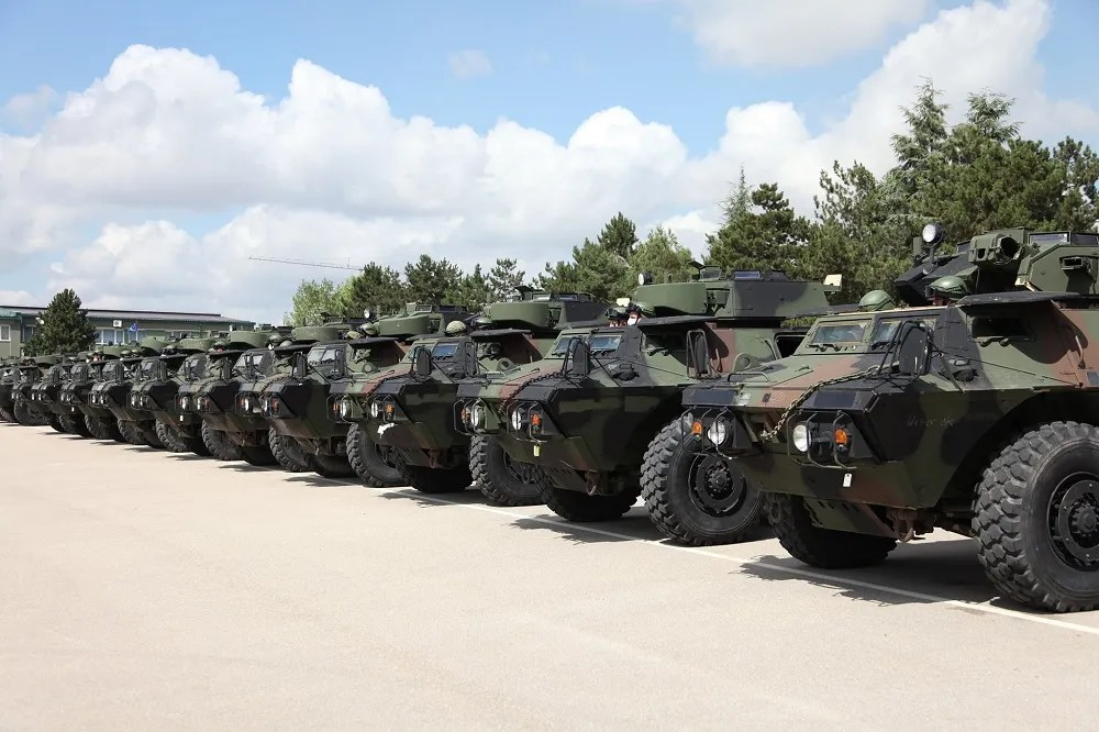 US Donates M1117 Guardian Armored Security Vehicle to Kosovo Security Force