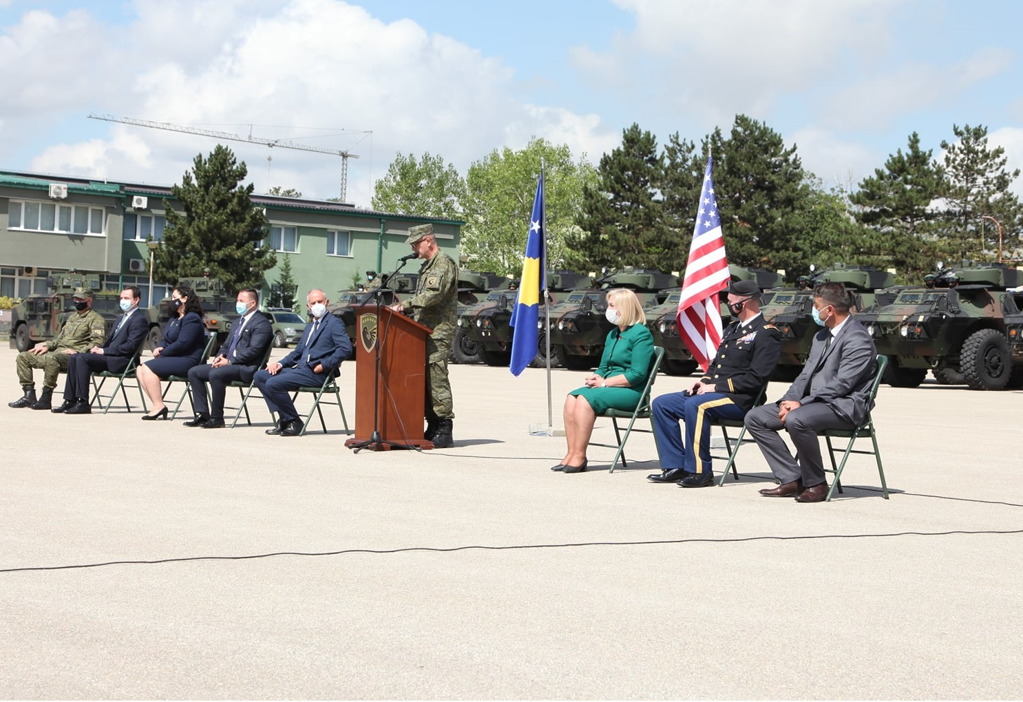 US Donates M1117 Guardian Armored Security Vehicles to Kosovo Security Force