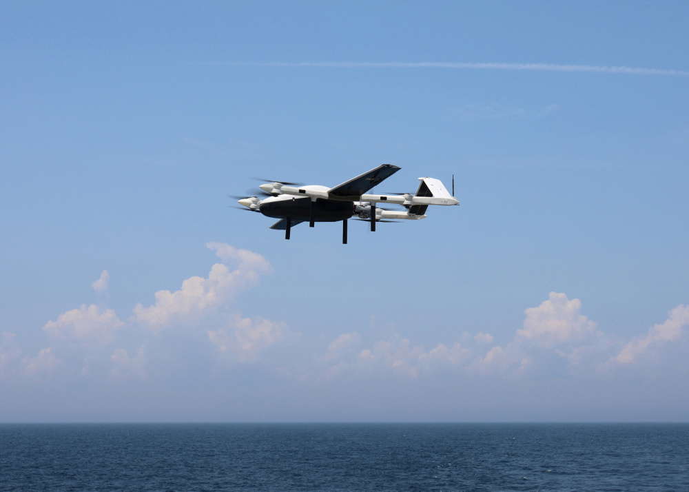 US Naval Air Warfare Center Teams Up with Military Sealift Command to Test Unmanned Aerial System Concept