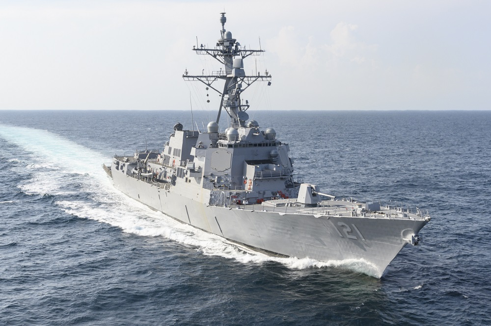 Ingalls Shipbuilding Successfully Completes Builder's Trials for US Navy Frank E. Petersen Jr.