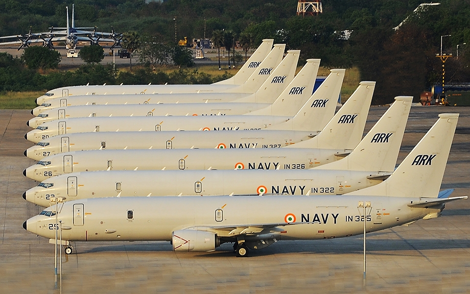 Indian Navy P-8I Multimission Maritime Patrol Aircrafts