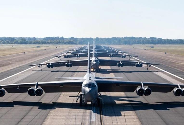 U.S. Air Force B-52H Stratofortresses