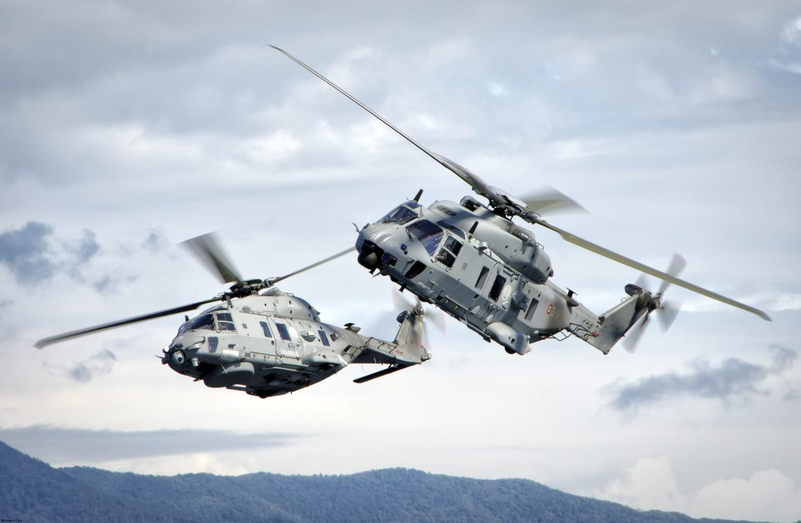 Italian Navy MH90 NFH (NATO Frigate Helicopter)