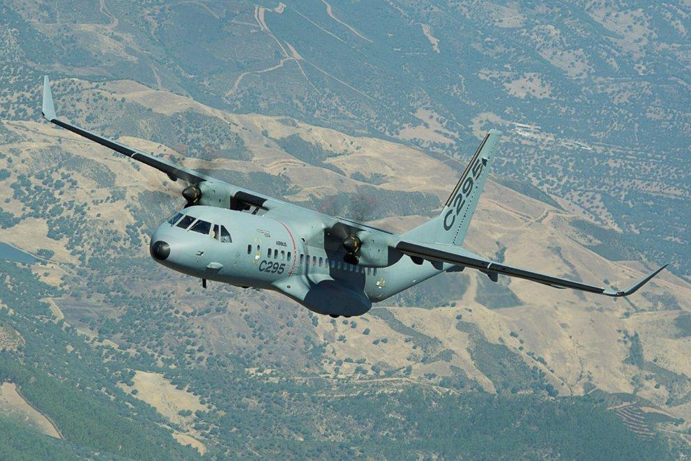 Airbus C-295 medium tactical transport aircraft