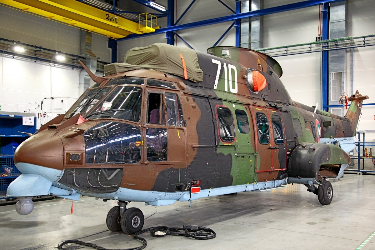 Bulgarian Air Force Starts Overhaul for Its First COUGAR Multipurpose Helicopter