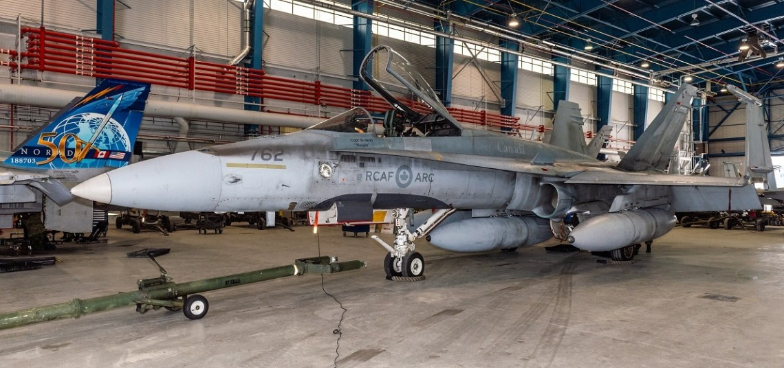 Royal Canadian Air Force McDonnell Douglas CF-18 Hornet