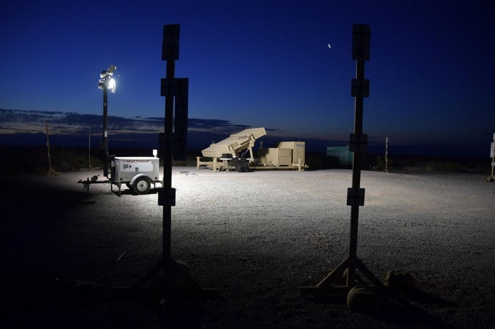 The Indirect Fire Protection Capability Increment 2 is a mobile, ground-based system designed to defeat subsonic cruise missiles, Group 2/3 unmanned aircraft systems, rockets, artillery, mortars and other aerial threats. (Heriberto Ibarra WSMR)